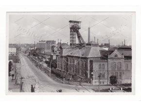 Ostrava šachta Jáma Šalomoun hornictví těžba důl feldpost razítko Filatelie 1a