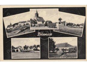 BÍLENICE - okres Klatovy, Šumava, 5 okének, ČB foto, foto K. Resch, MF